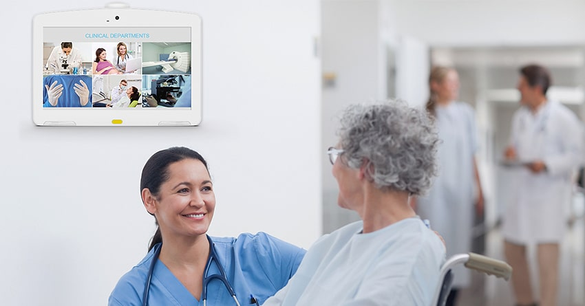 Medical tablet pc benefits everyone in hospital