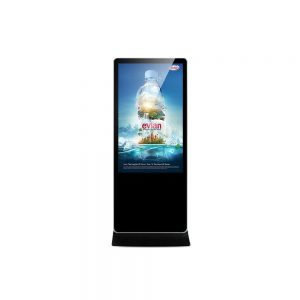 Digital signage lcd touch screen totem kiosk