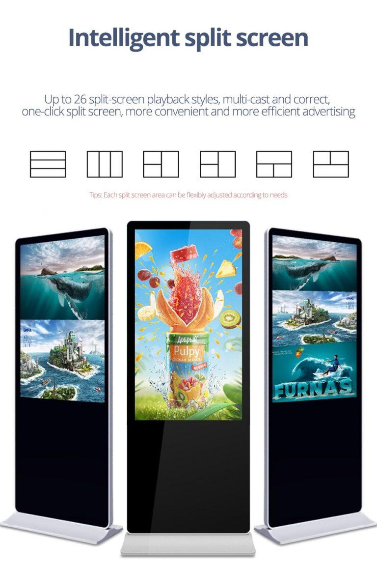 SH4375HD free standing internet kiosk for sale