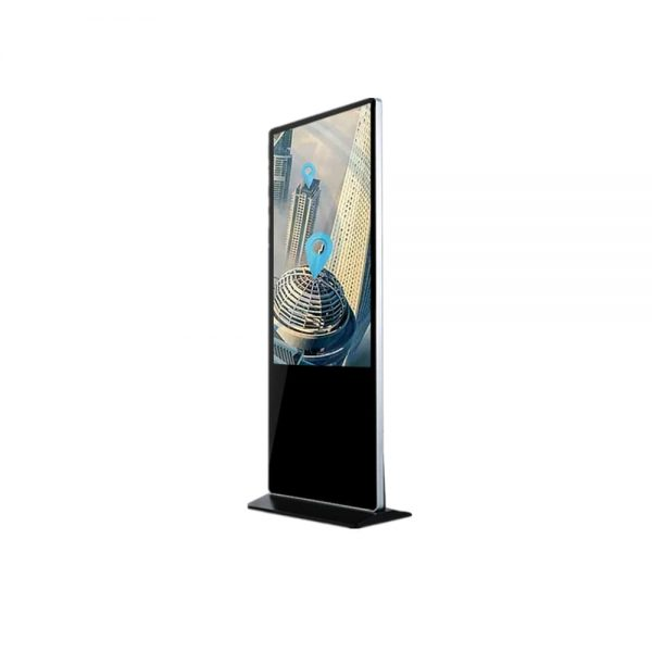 floor standing digital signage advertising android display