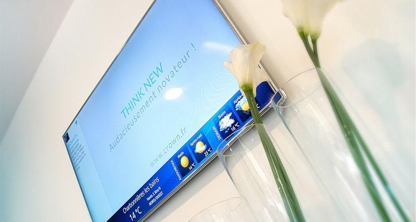 LCD advertising display
