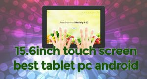 Tablet pc solve the combined display output and control