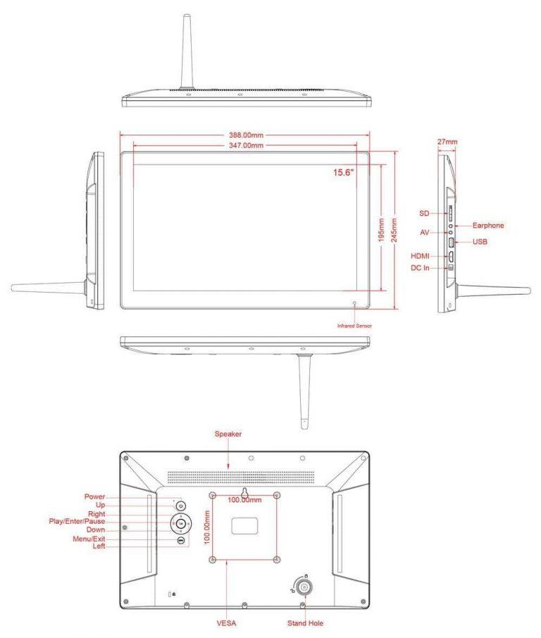 Wholesale 15 6 lcd photo frame digital