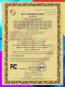 FCC Verification