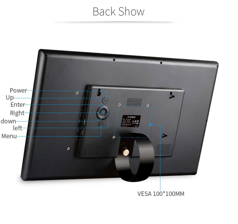 Display digital video photo frame