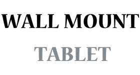 wall mount tablet