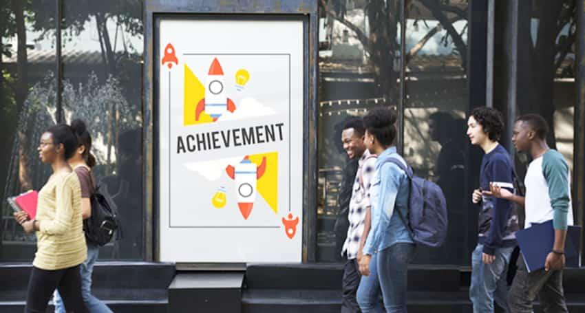 Creating a sense of community-Digital signage in Education