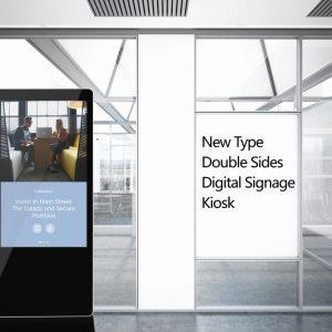 Lcd Advertising Double Side Kiosk