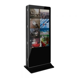 Smart Android double side interactive kiosk