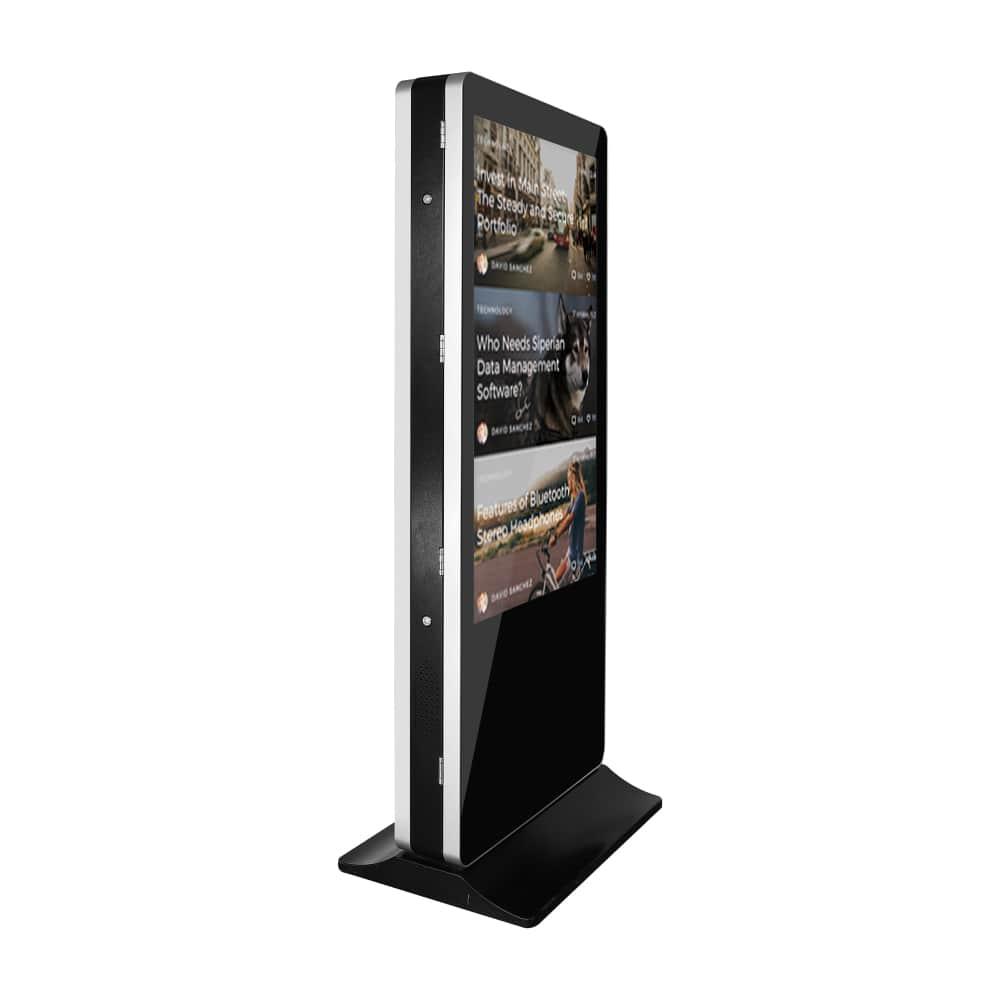 self ordering digital information kiosk