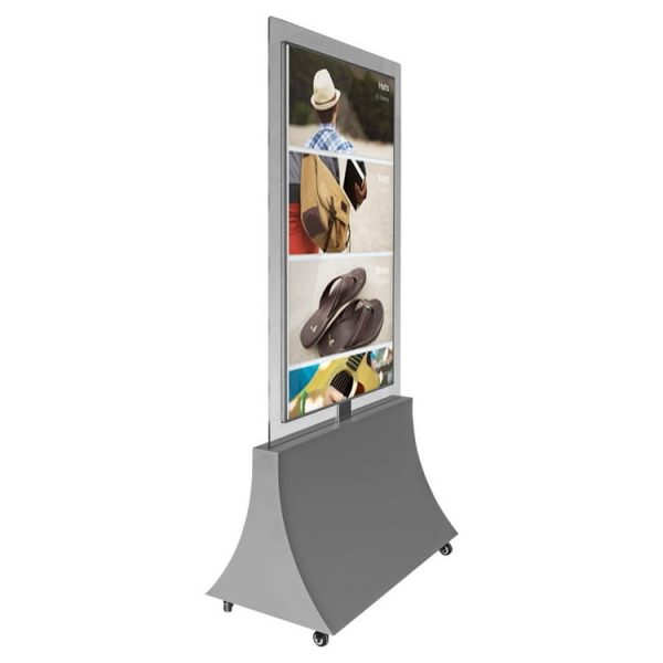 Double sided lcd screen