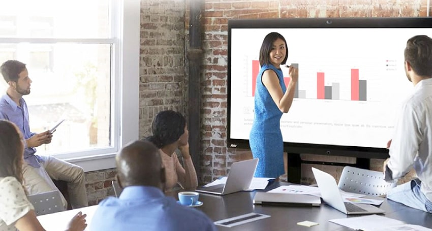 7 Ways Interactive Touch Screen Can Enhance Your Meeting rooms