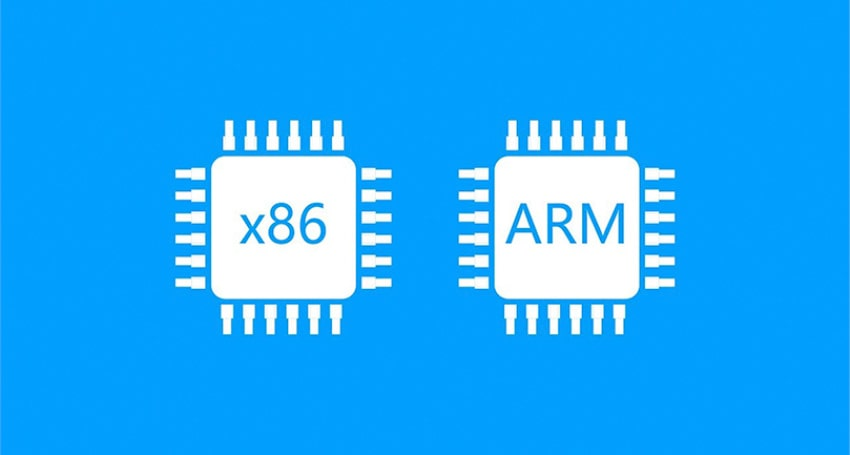 ARM architecture and X86 architecture