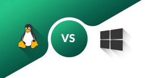 Linux compared with windows