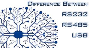 The difference between RS232, RS485 and USB serial interfaces