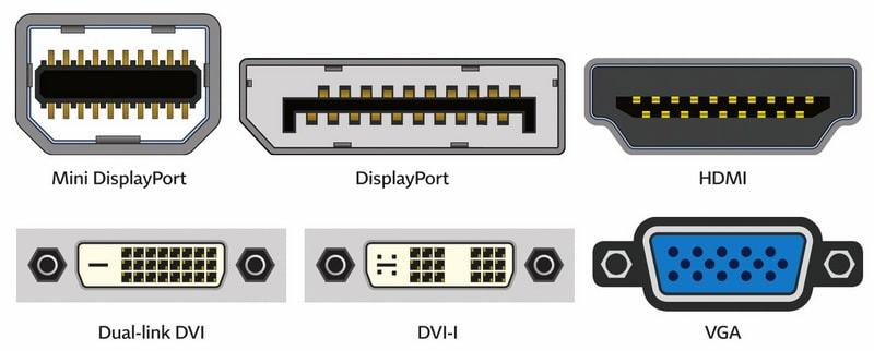 Differences of VGA, DVI, HDMI