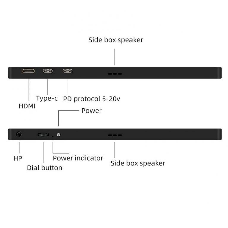 Usb type c monitor