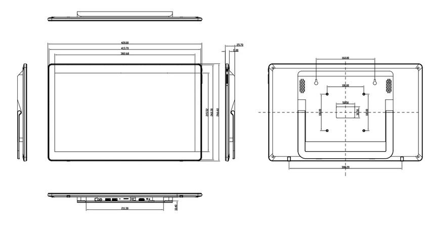 Wireless digital photo frame