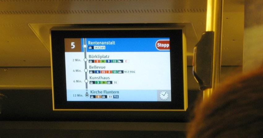 Traffic digital signage